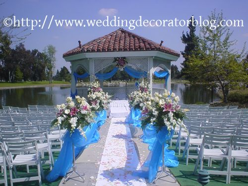 Decorating Gazebos And Arches For A Wedding Decorator Blog