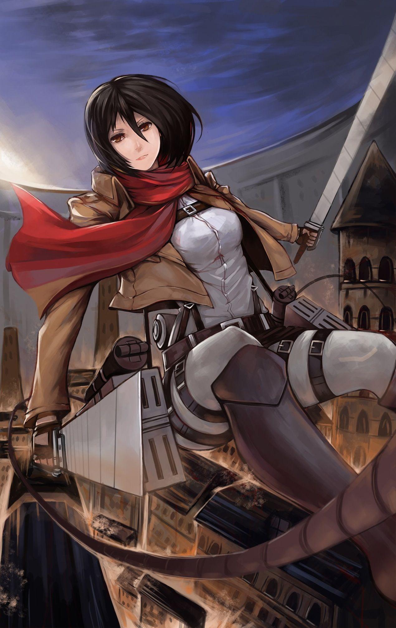 Attack on Titan Attack on titan, Anime