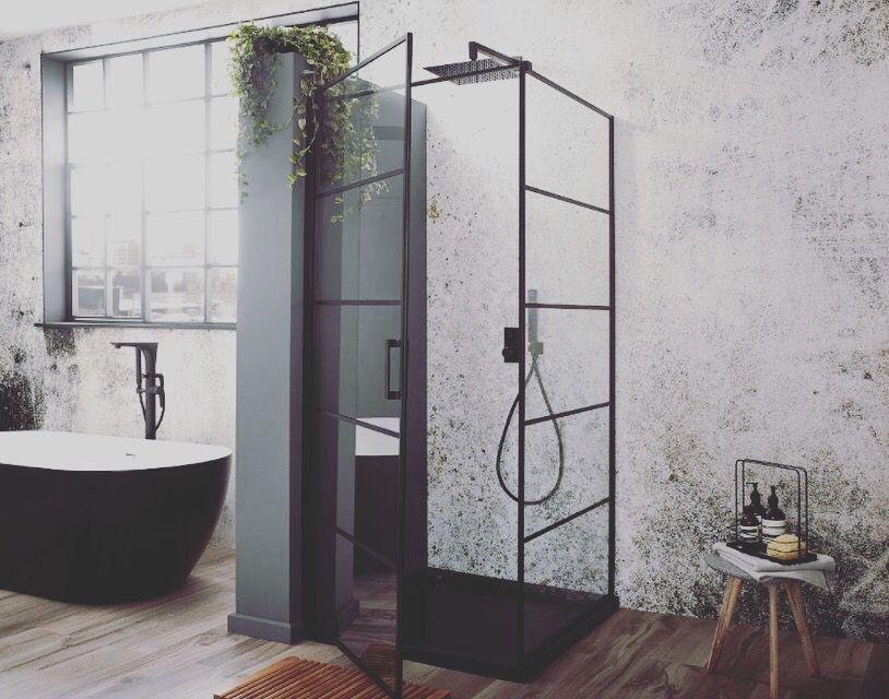 Oslo Velar Black Shower Enclosure Shower Panels Bathroom Design Trends Bathroom Trends
