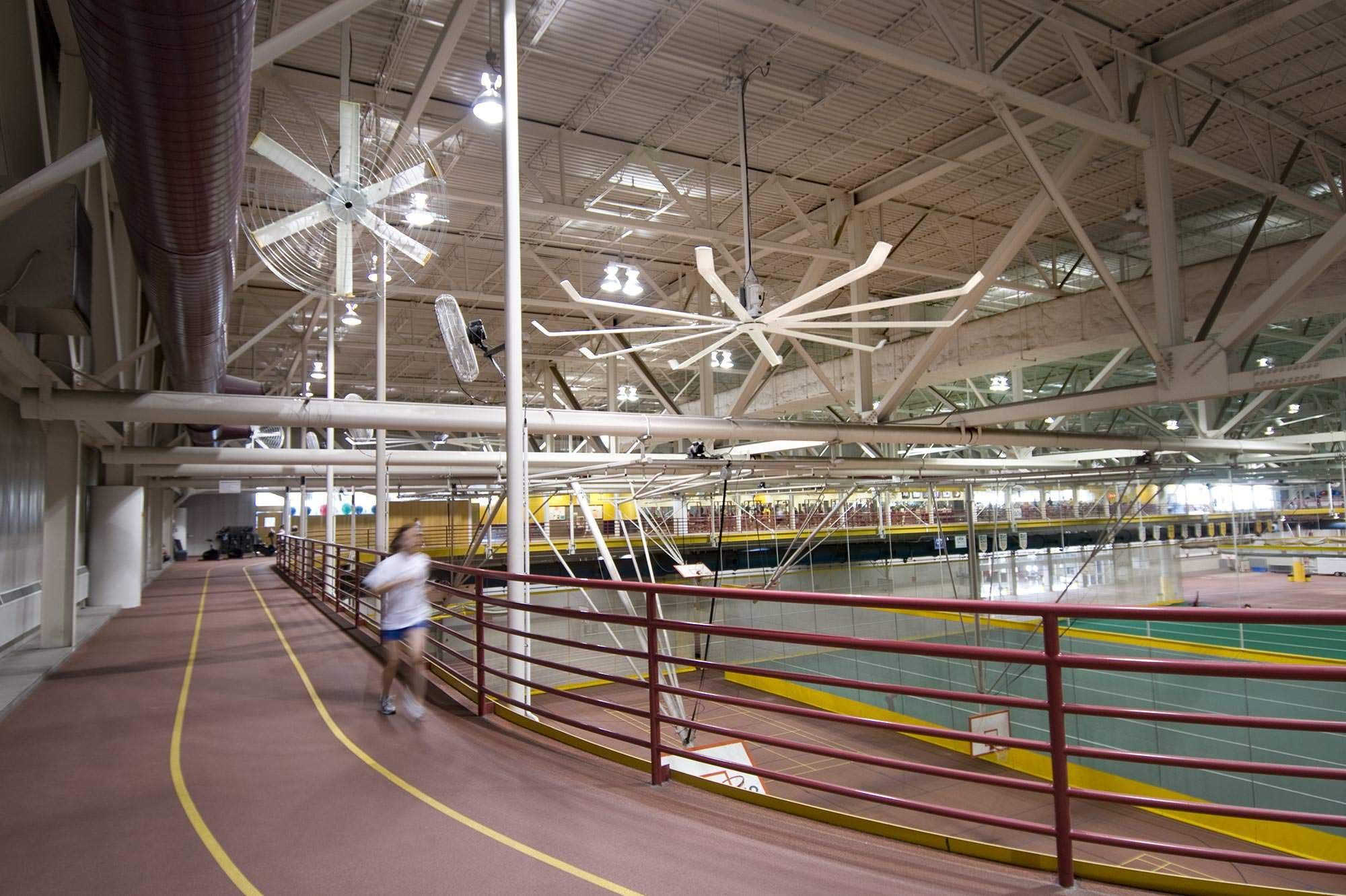 iowa state university's aging lied recreation athletic center needed