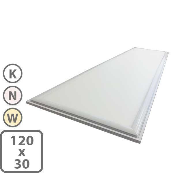 LED Panel 120x30 - flache Deckenleuchte - wahlweise dimmbar Haus