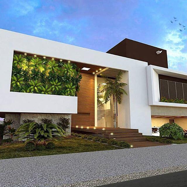 Facade House, Modern