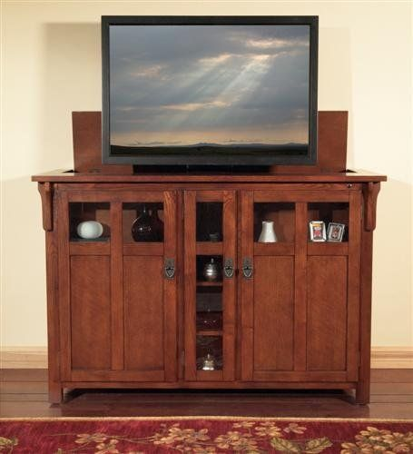 Bungalow Tv Lift Cabinet By Touchstone Home Products