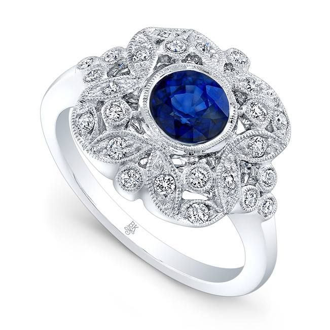 Santa baby, forgot to mention one little thing...a ring. #santababy #sapphire #beverleykcollection #ring #gift