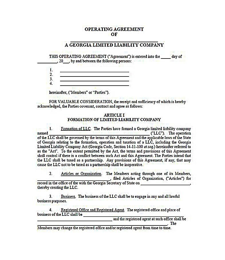 Texas Llc Operating Agreement Template Hjdnk Best Of Free Single - Llc operating agreement texas