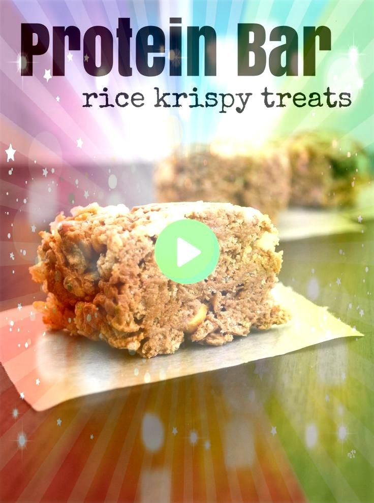Protein Bar Rice Krispy Treats  I am not sure we can call these Mallow and Co Protein Bar Rice Krispy Treats  I am not sure we can call these and Co Protein Bar Rice Kris...