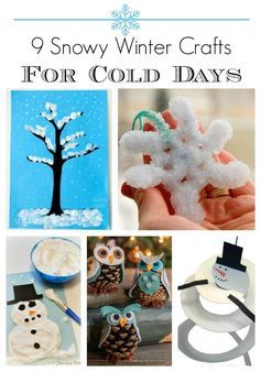 Winter Craft Ideas For Middle School Crafts Winter Crafts For