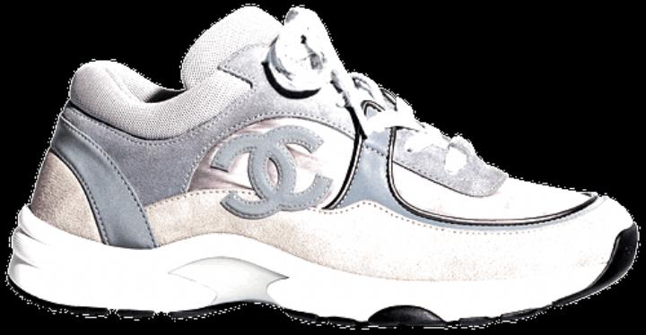 Chanel Wmns Sneaker Grey Blue - Chanel
