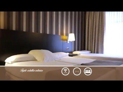 DECORACIÓN HABITACIONE EXTERIOR HOTEL CONDE DUQUE BILBAO