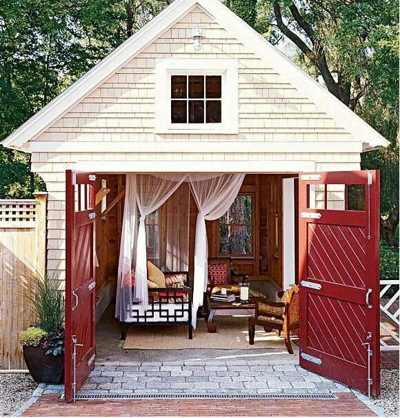 {Summer House} Garden Sheds & Backyard Retreats