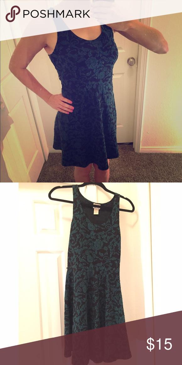 Green Mid Thigh Dress