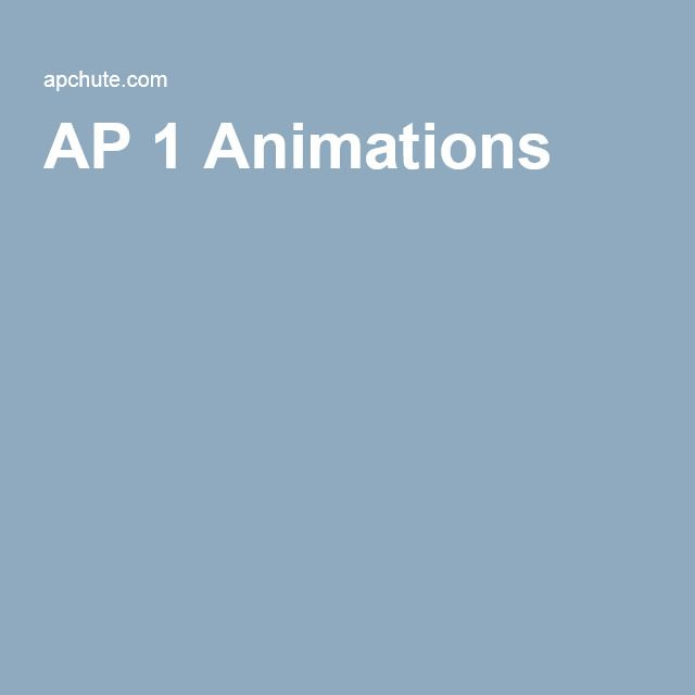 Anatomy & Physiology I Animations Movies & Interactive Tutorial ...
