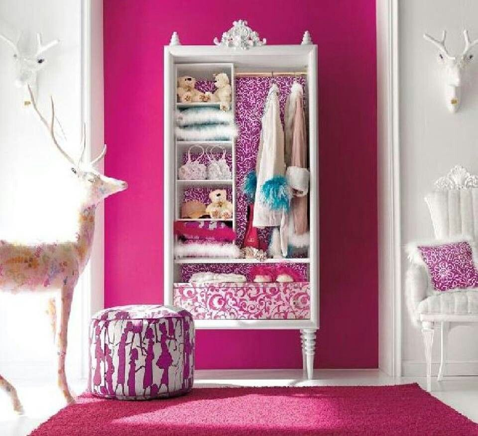 Q. Pink Girls BedroomsPink ...