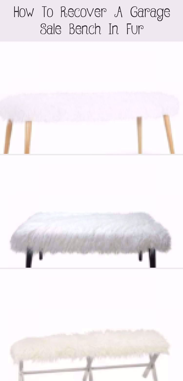 DIY Gray Faux Fur Bench by Jennifer Allwood | Luxe and LiVed in | Comfy Glam Style | Home Decor Ideas | Boho Office Decorating Ideas | Grey | Faux Fur Bench Cover | Upcycle | Bench Upgrade | #garagesalefind #thriftstorefind | Thrift Store DIY | Faux Fur Bench DIY | #glam #homedecor #decoratingideas #DIY #diyhomedecor #howto #boho #recycle #repurpose #upcycle #HomeDecorDIYRecycle