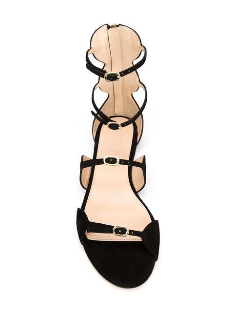 Giambattista Valli Suede Gladiator Sandals - Shoes