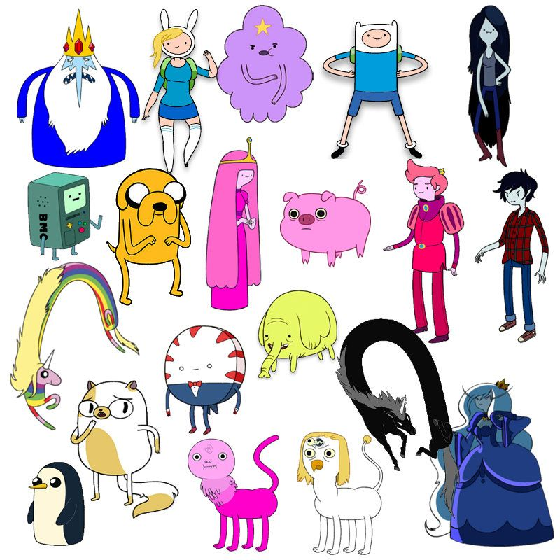 All Of The Characters Combined Adventure Time Characters