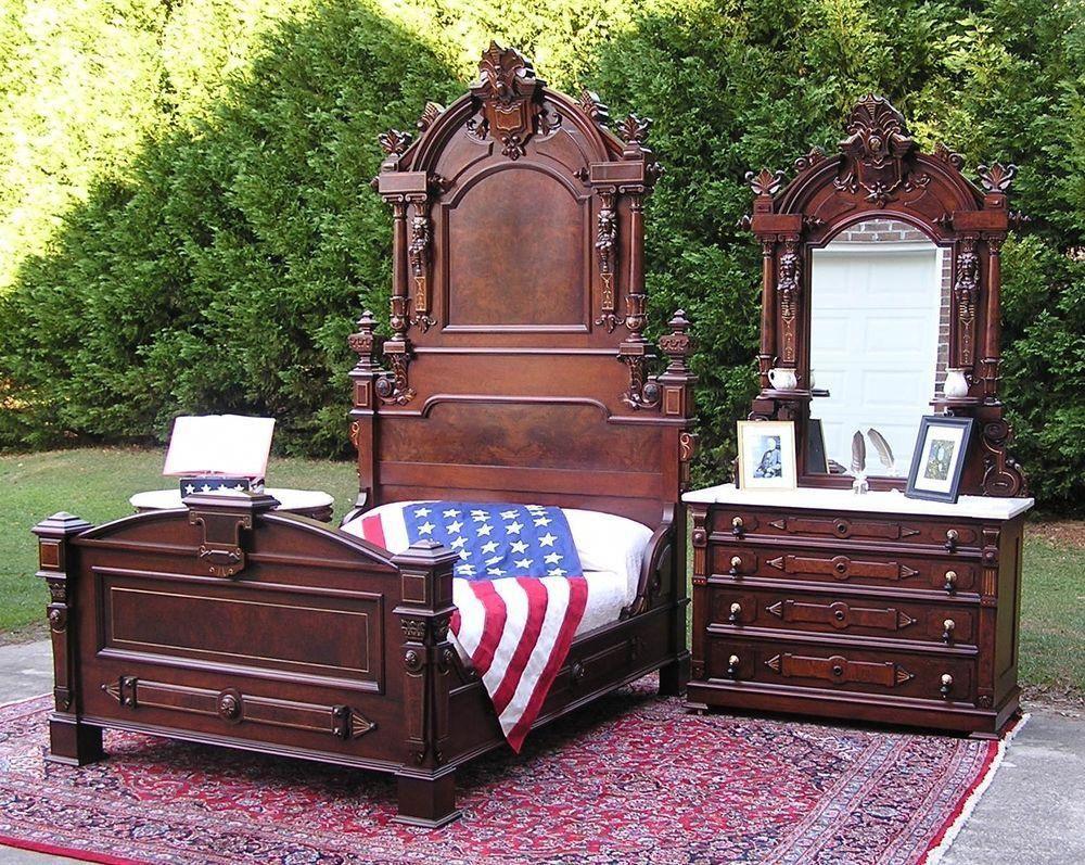 Antique Bedroom Sets Ebay