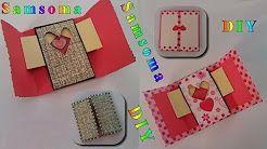 4 Samsoma Diy Youtube اصنعي بنفسك كارت معايدة باسلوبك الخاص عمل كارت معايدة صنع بطاقة معايدة او تهنئة Diy Paper Crafts Ideas Gre Crafts Diy Pot Holders