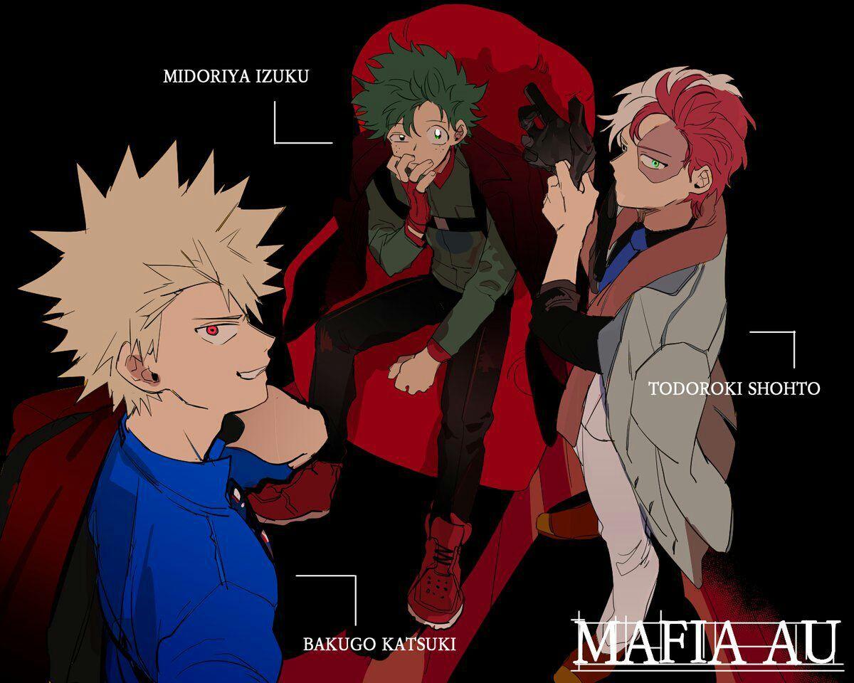 Bnha Bha Todoroki X Midoriya X Bakugou Quyển 2 My Hero Academia Manga Villain Deku Boku No Hero Academia