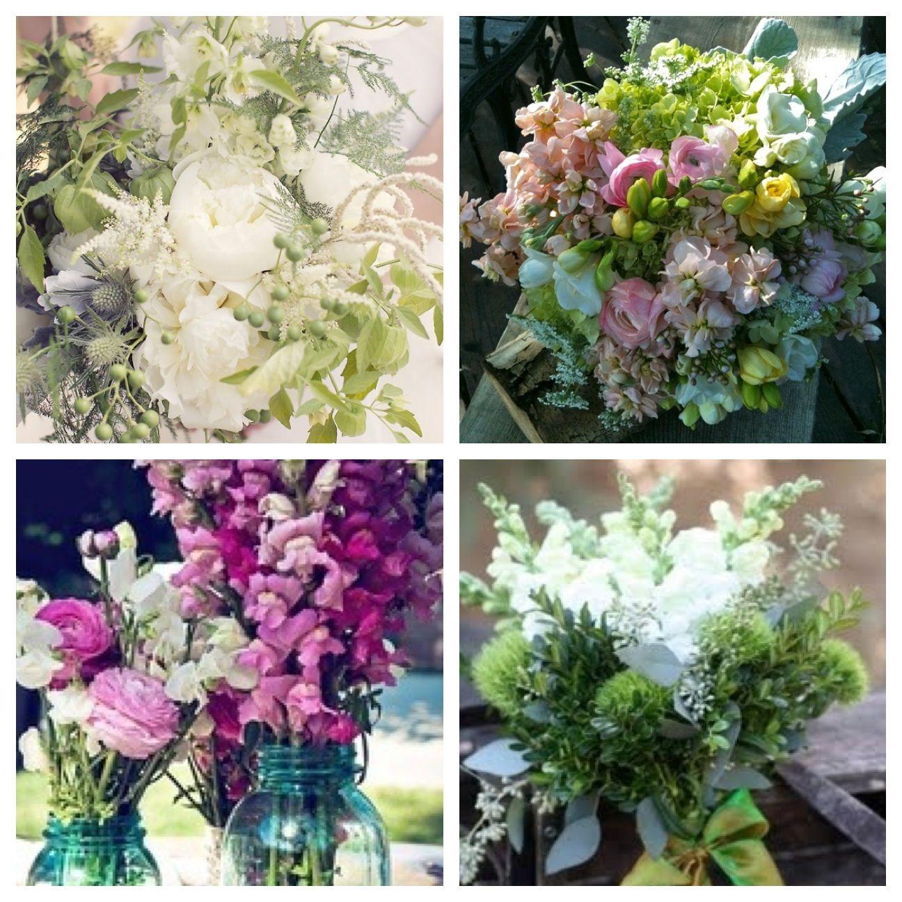 October In Season Wedding Flowers