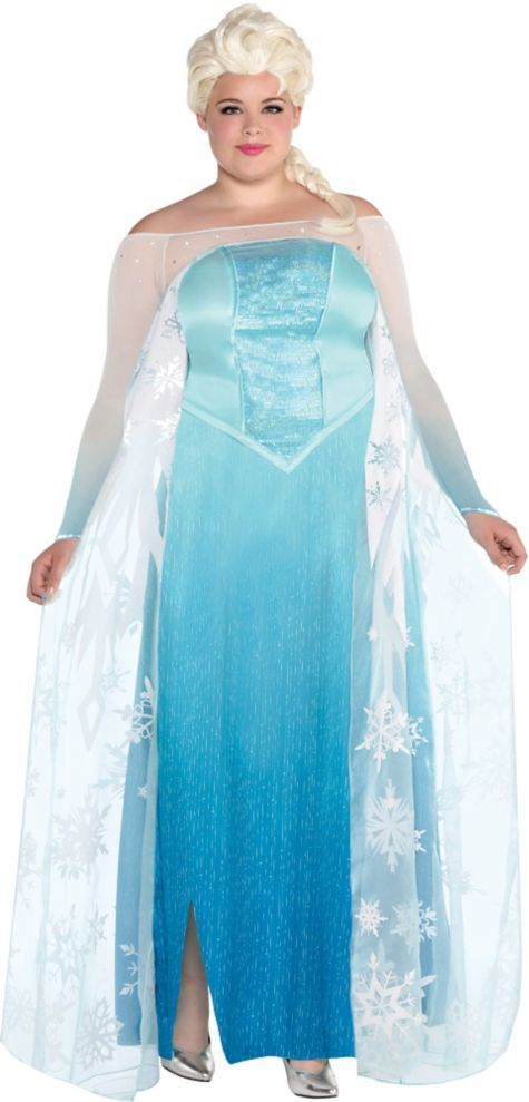 53402786209 Adult Elsa Costume Plus Size - Frozen - Party City | Holiday's in ...