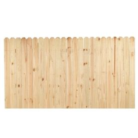 4ft X 8ft Pine Fence Panel 26 38 At Lowes Right Now But It Could