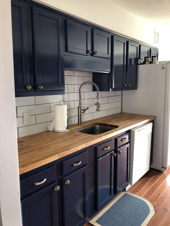 Navy Blue Kitchen Cabinets Nautical Kitchen Decor Nautical Kitchen Blue Kitchen Cab In 2020 Nautical Kitchen Nautical Kitchen Decor Navy Blue Kitchen Cabinets