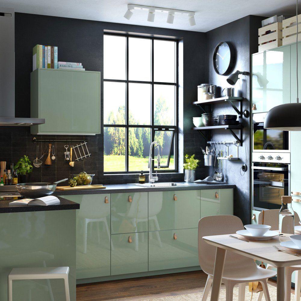 Cuisine Metod Ikea Tout Savoir Meuble Cuisine Cuisine Verte Cuisine Ikea