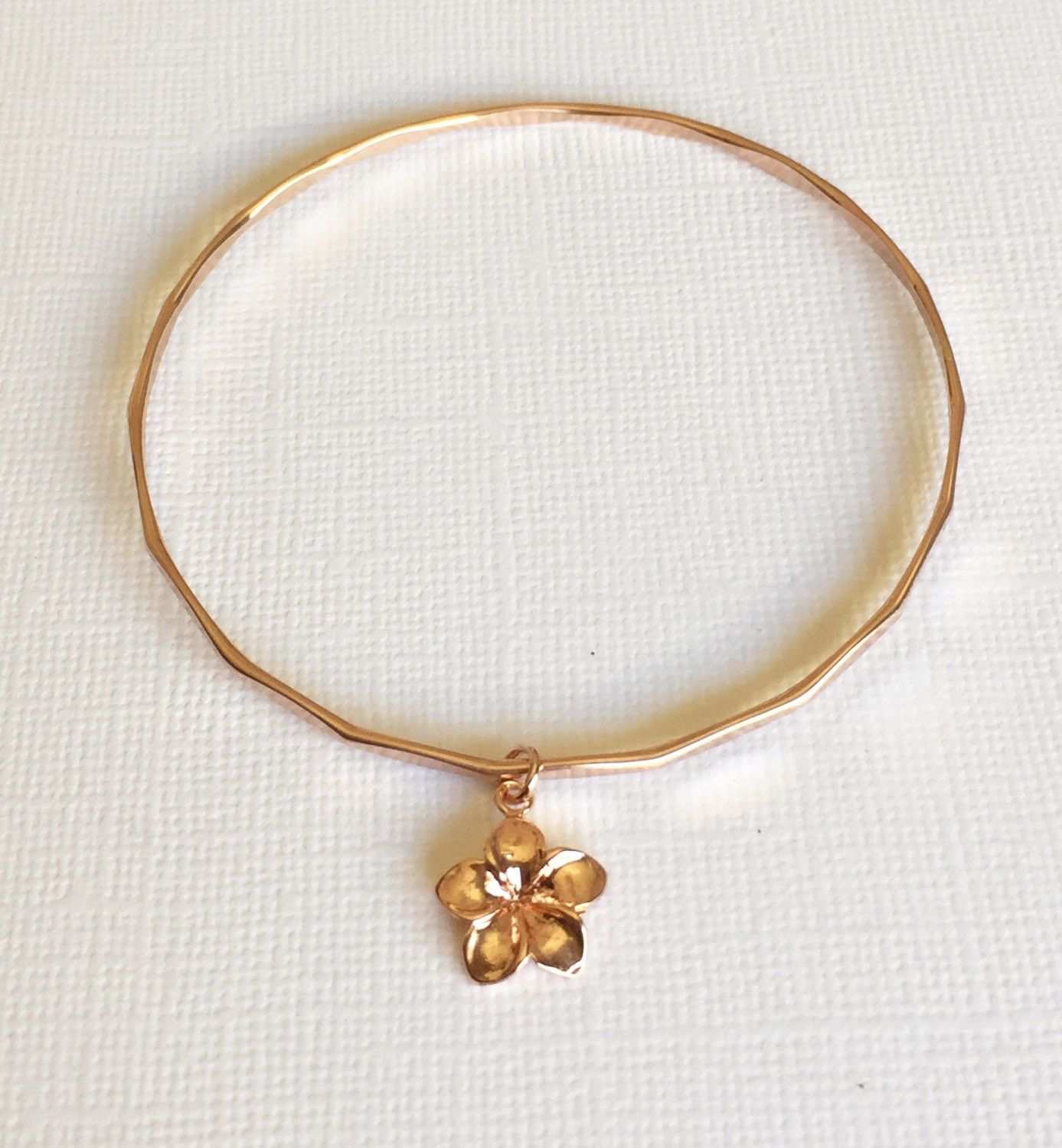 gold clasp plumeria tab hibiscus silver plated rose sterling bracelet engraved hawaiian insert solid scroll