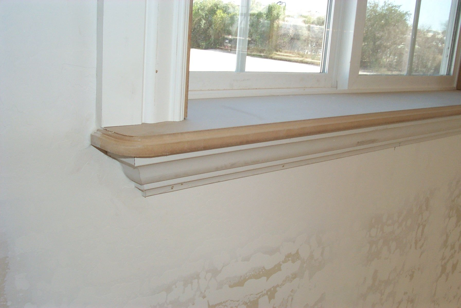Ornate and trimmed out  Interior window trim, Interior window
