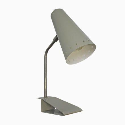 Graue Pinocchio Tischlampe von H.Th.A. Busquet für Hala Zeist, 1950er Jetzt bestellen unter: https://moebel.ladendirekt.de/lampen/tischleuchten/beistelltischlampen/?uid=f6e4b6ee-1d36-597e-aab7-c8e50395dbd1&utm_source=pinterest&utm_medium=pin&utm_campaign=boards #lampen #tischleuchten #beistelltischlampen