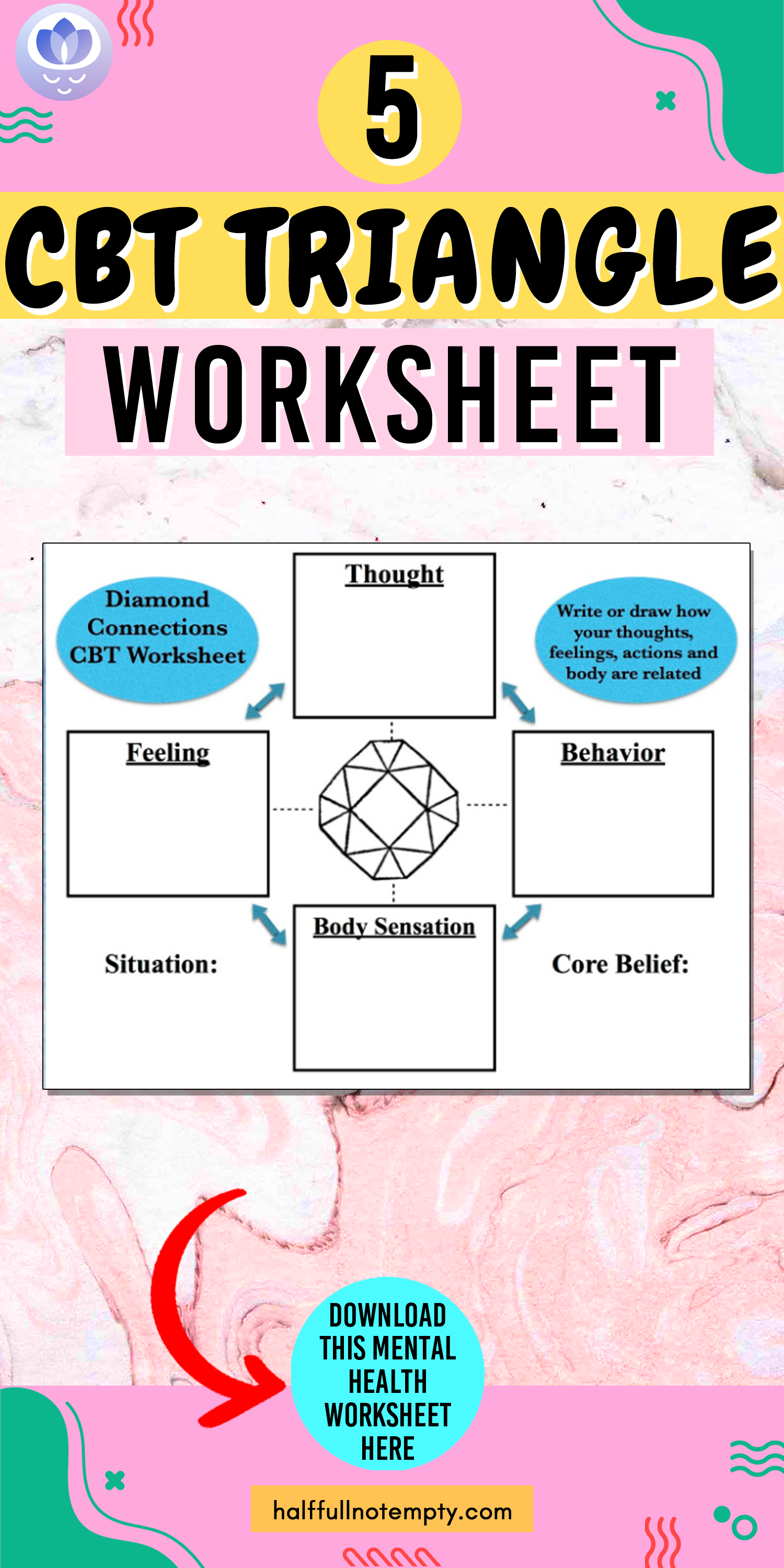 5 Cbt Triangle Worksheet In