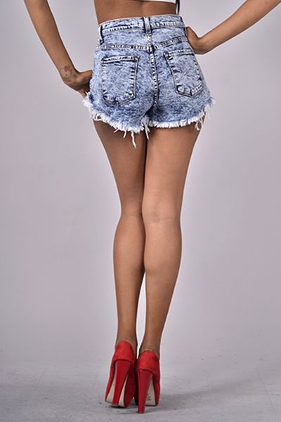 heetheadz.com high waisted cut off jean shorts (09 ...
