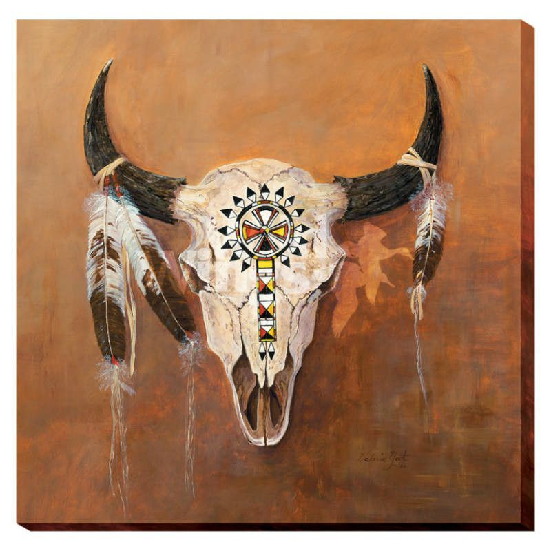 Deer Head Painting Abstract