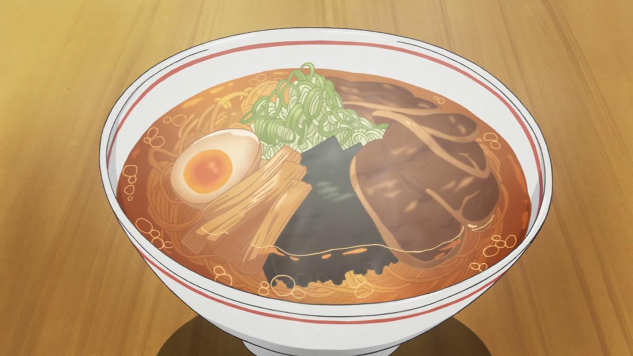 Silver Spoon ramentype spoilers. Food illustrations