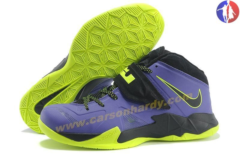 48eab640636 ... new zealand authentic court purple flash lime nike lebron zoom soldier  vii 599264 006 for sale