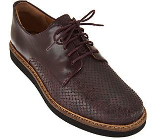 Clarks Artisan Leather Lace-up Shoes - Glick Darby