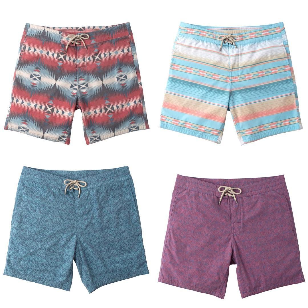 fd454cc6a5 Boardshorts. We got lots of them. Quick drying, sustainable fabric. 7 inch  or 9 inch inseam. Men's swim also includes trunks and our signature All Day  ...
