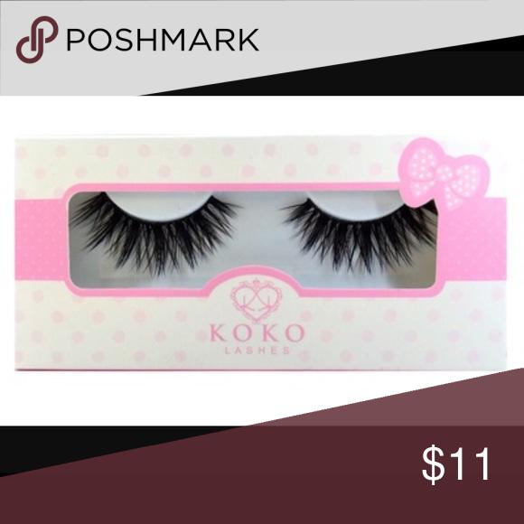 Koko (Goddess) Lashes Handmade lashes, very bold and pretty. Makeup False Eyelashes