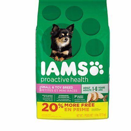 Iams Proactive Health Small Toy Adult Dog Food 6 Lbs You Can