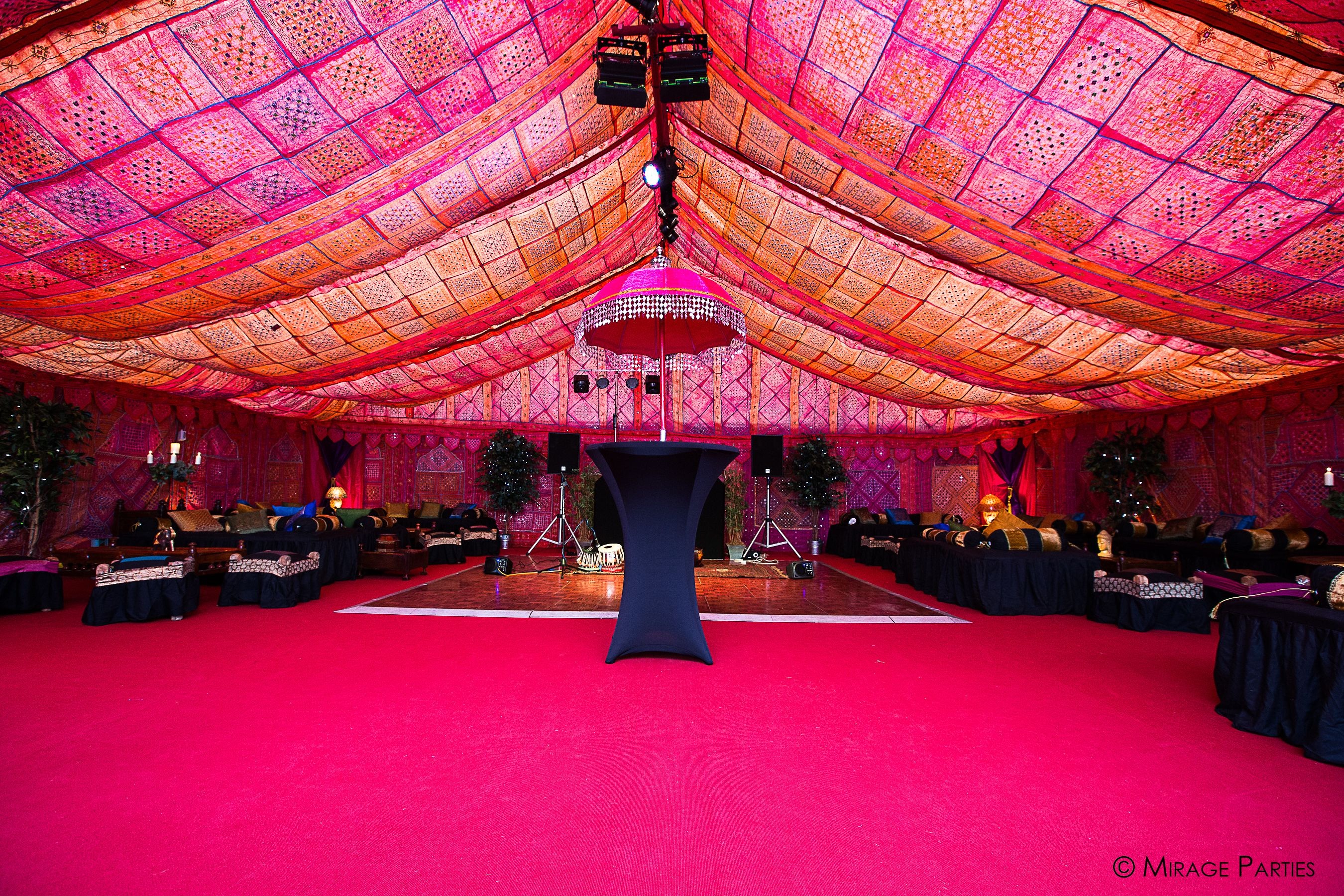 The Bombay Boudoir Bollywood Interior Transforms This Ordinary Clearspan Marquee