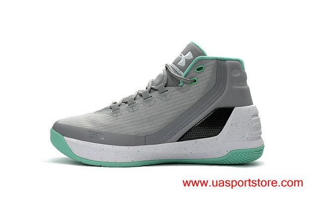Under Armour Steph Curry 3 Grey Jade Green Dots Women S Basketball Shoes Cheap Under Armour Mens Shoes Online Jordan Shoes Online