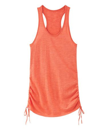 Light Coral Sunset Vesta Sweater Tank by Athleta #zulily #zulilyfinds  Summer come quick!!