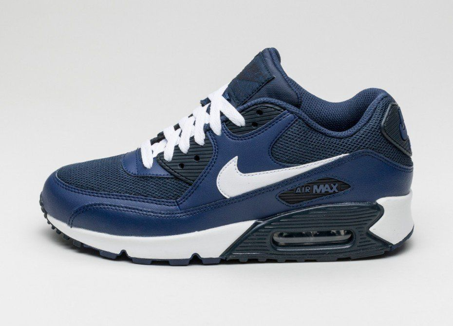 Nike Air Max 90 Essential Schuhe Sneaker Turnschuhe Blau