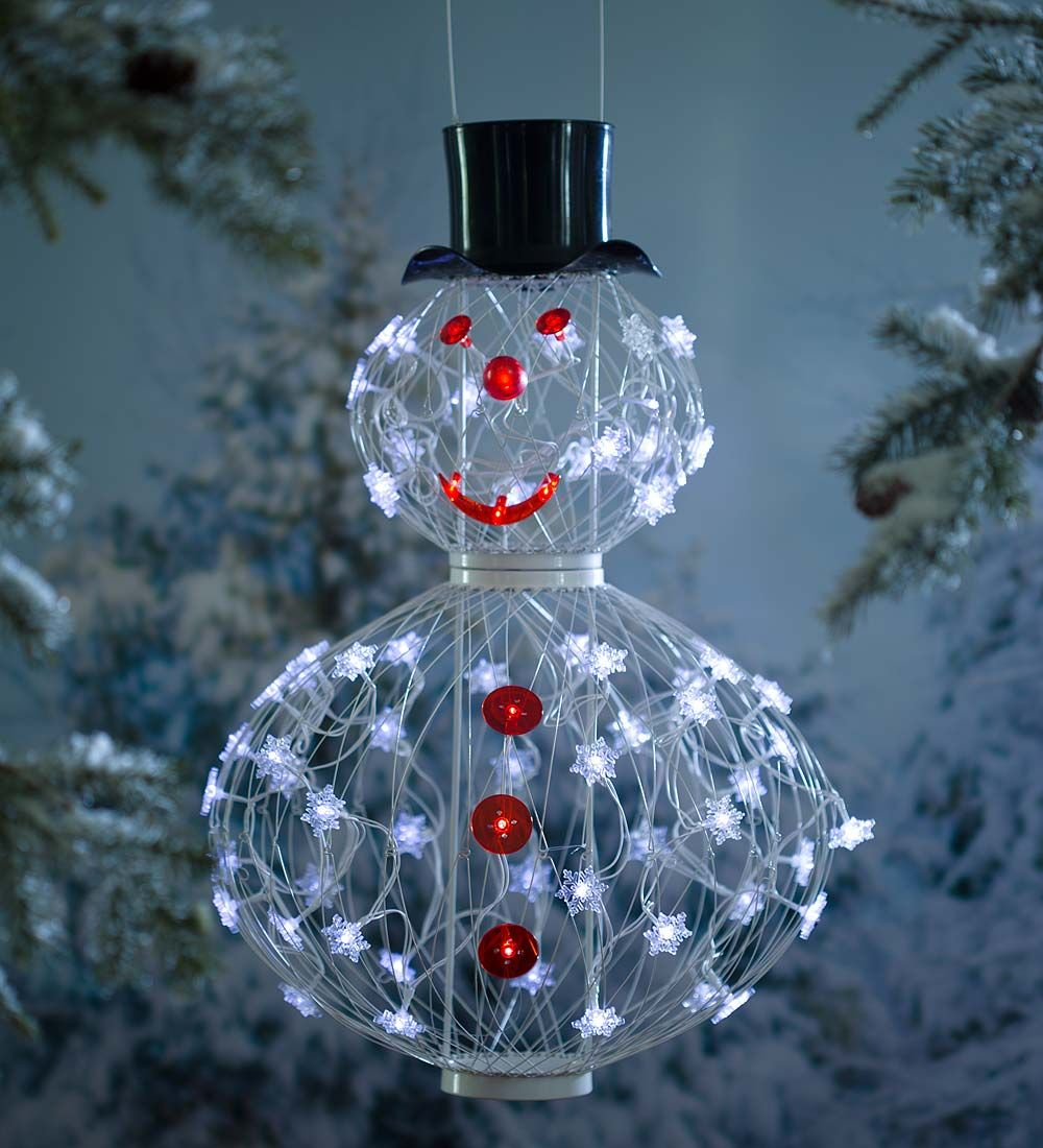 His name may sound like an oxymoron, but the Solar Snowman