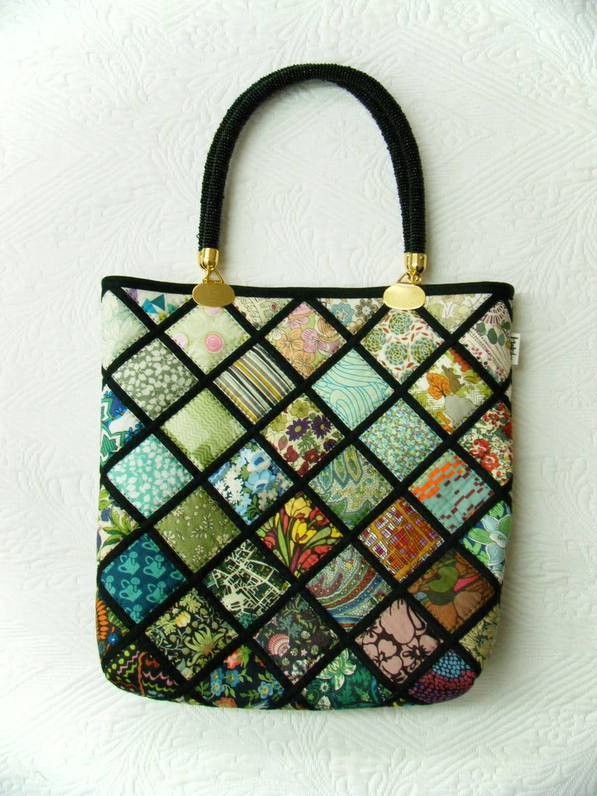 quilted bag patterns | ... Mariko Japan: New bags: Mariko's new ... : quilted bags and totes patterns - Adamdwight.com