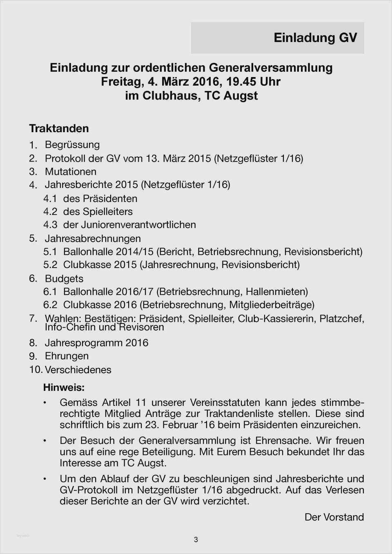 Best Of Schriftfuhrer Verein Protokoll Vorlage 13
