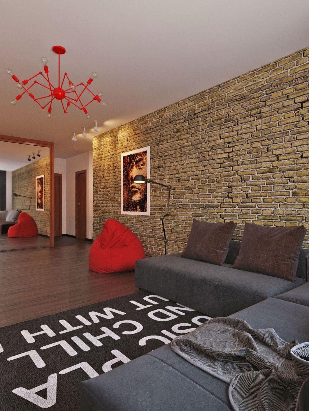 3D Design Architectural Visualization & Rendering | Interior rendering / Loft Apartment