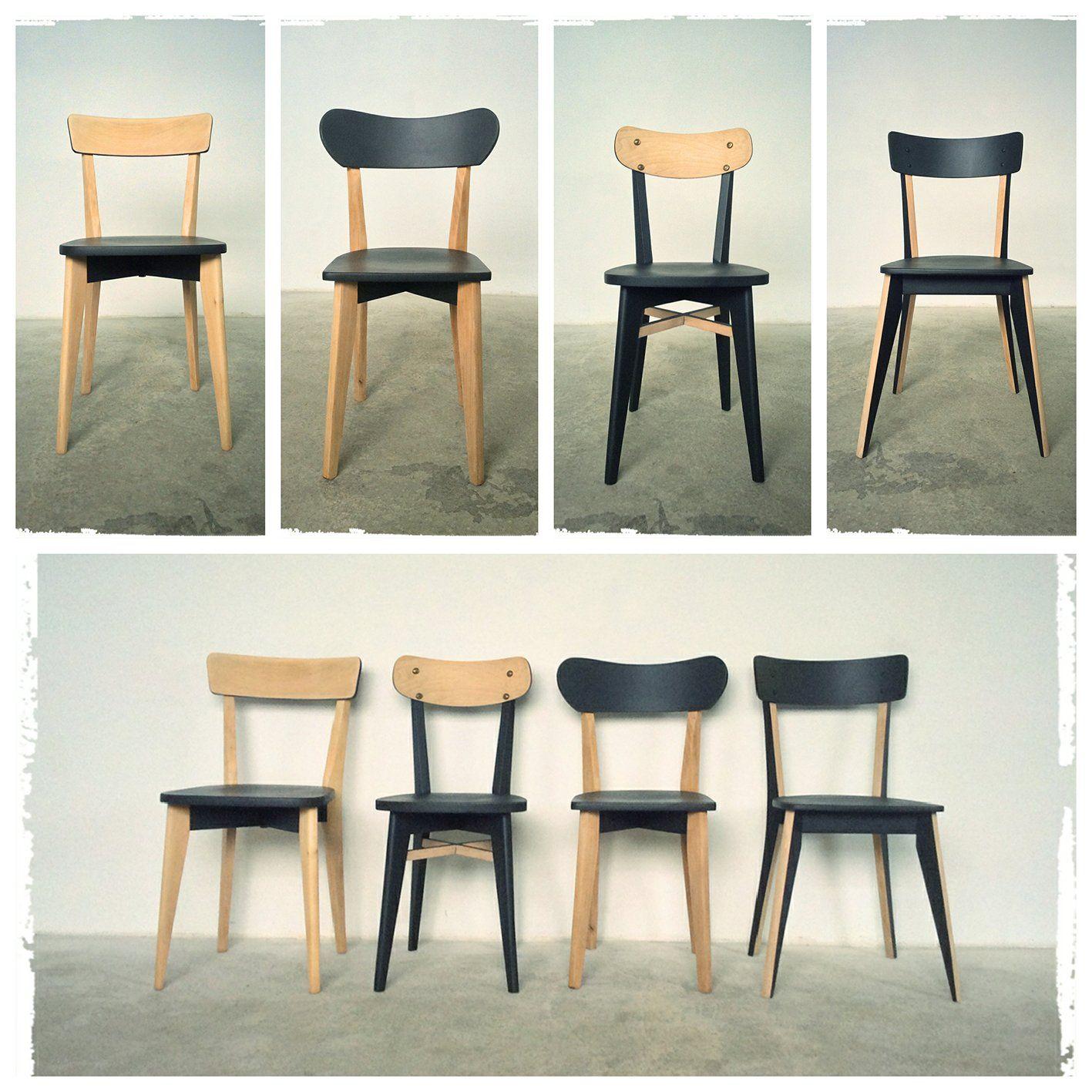chaises vintage pieds compas dpareilles revisites oompa meubles et dcoration vintage scandinave - Chaise Vintage Scandinave
