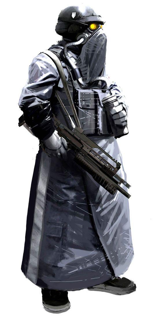 Character 2 Killzone 2 Concept Art Futuristic Art Art